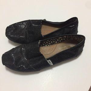 Sparkle TOMS shoes